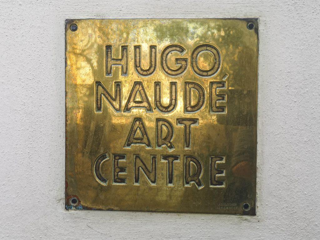 Hugo Naude Art Plaque