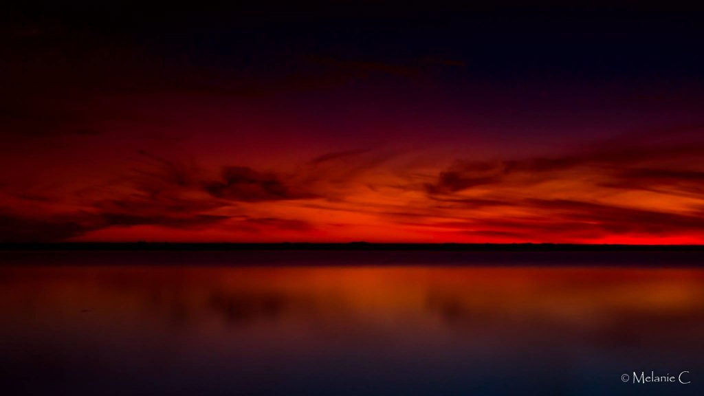 Red African Sky Photo