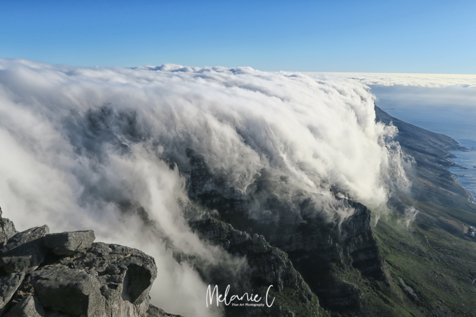 Table Mountain with mist blanket
